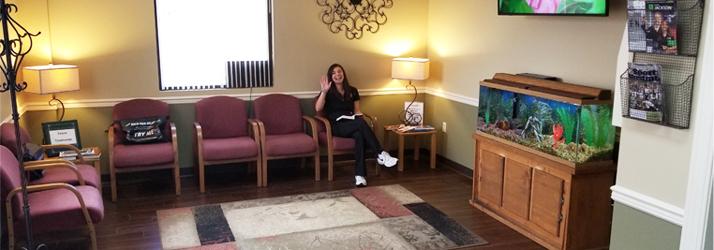Chiropractic Jackson TN Waiting Room